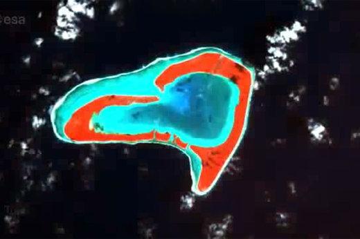 فیلم | عاشقانهترین تصاویر فضایی از کره زمین