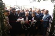 یک سالن ورزشی با حضور وزیر دادگستری در قزوین بهرهبرداری شد