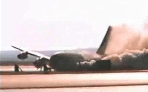 فیلم | لحظه سقوط عمدی بوئینگ۷۲۰ ناسا