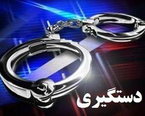 دستگیری یک سوداگر مرگ و با بیش از ۵ کیلو حشیش در محور اصفهان به شهرکرد