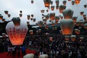 تصاویر | جشن سال نوی چینی اینگونه تمام میشود