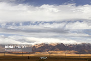 تصاویر | دلربایی ابرها در آسمان کویر