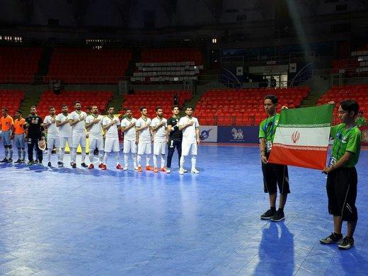 لیست بازیکنان تیم ملی فوتسال برای قهرمانی آسیا مشخص شد