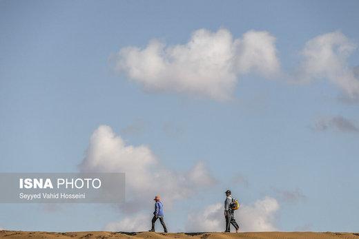 منطقه کویری «جندق» در نزدیکی روستای مصر