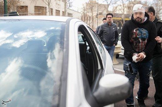 بازداشت سارق ایربگ پژو ۲۰۶