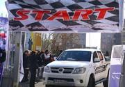 مسابقات اتومبیلرانی قهرمانی کشور در تبریز آغاز شد