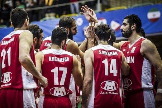 برنامه بازیهای تیمملی بسکتبال در جام جهانی مشخص شد