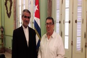 سفیر ایران با وزیر خارجه کوبا دیدار و گفتوگو کرد