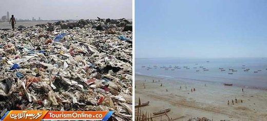 داوطلبان در حدود 5.3 میلیون کیلوگرم زباله از ساحل بمبئی جمع آوری کرده اند
