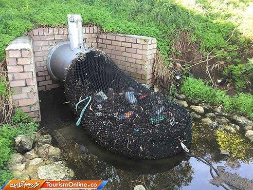 در برخی شهرهای استرالیا از این توری ها برای جمع آوری زباله ها استفاده می کنند