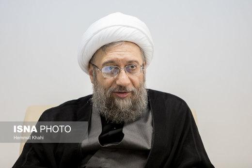 آیتالله آملیلاریجانی : ایران در برابر کار آمریکا ساکت نخواهد بود
