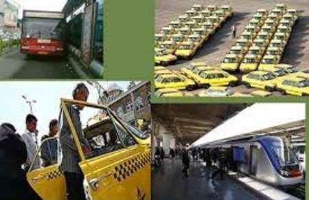 افزایش نرخ کرایه های حمل و نقل عمومی طبق تورم