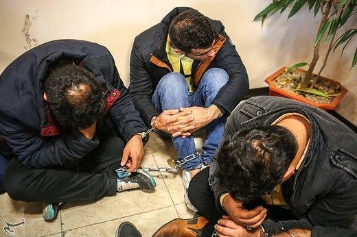 بازداشت باند مخوف ۱۵ نفره سرقت منزل