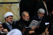 تصاویر | مراسم رهبر انقلاب برای بزرگداشت آیتالله مومن