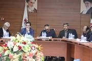 حضور مدیر عامل شرکت سرمایهگذاری صندوق بازنشستگی کشوری در فولاد اکسین