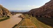 اتمام بخشی از مرمت و استحکامبخشی پل تاریخی پلدختر