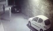 فیلم   سرقت شبانه پلاکهای خودرو در بندرانزلی!