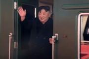 فیلم | رهبر کره شمالی با قطار به دیدار ترامپ رفت