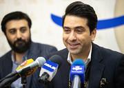 فیلم | آوازخوانی محمد معتمدی در نشست خبری