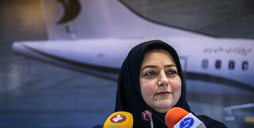 مدیرعامل ایران ایر: تحریمها اثری بر پروازها نداشت