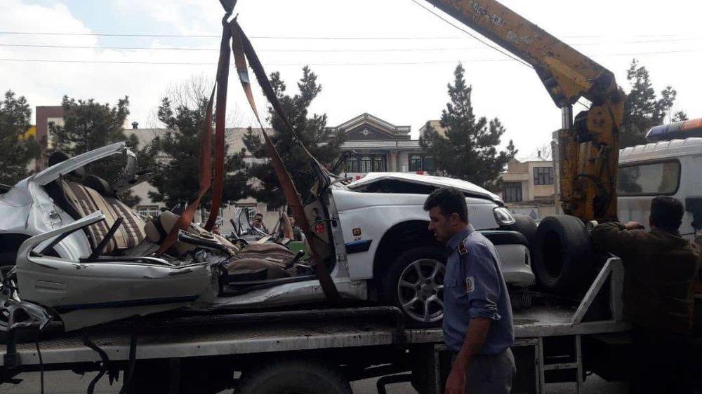 تصادف خونین یک دستگاه پژو پارس