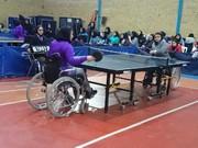 آغاز دور برگشت تنیس روی میز بانوان به صورت ایستاده و نشسته