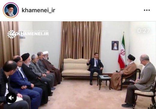 تزامن زيارة الأسد إلى طهران واستقالة ظريف