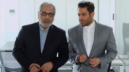 عکس | مهران مدیری و محمدرضا گلزار با دستبند و لباس زندان بر پوستر یک فیلم
