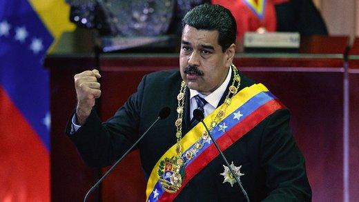 مادورو: آمریکا در تدارک جنگ است