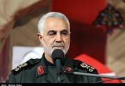 اللواء سلیمانی: ظریف یحظي بتأیید كبار المسؤولین/صور
