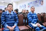 تصاویر | اولین جلسه دادگاه «آقای عابربانک» و ۱۰ متهم اقتصادی دیگر