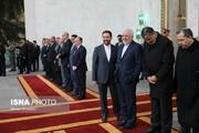 ظریف یحضر مراسم استقبال رئیس الوزراء الأرميني/صور