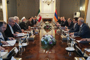 Iran keen on expanding of relations, cooperation with Armenia: Pres. Rouhani