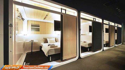 هتل به شکل داخل هواپیما: شبی 52 دلار