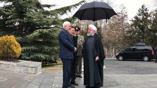 مراسم استقبال از نخست وزیر ارمنستان