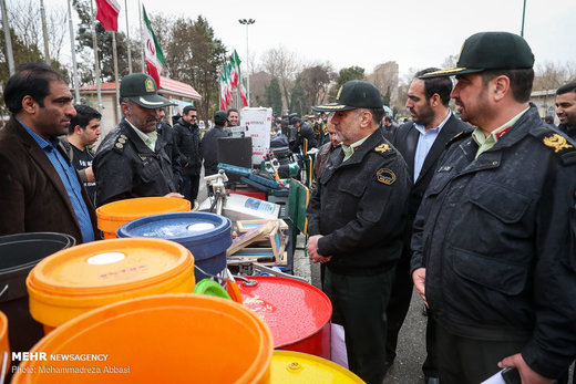 هفتمین مرحله از طرح دستگیری سارقان حرفه ای و مالخران