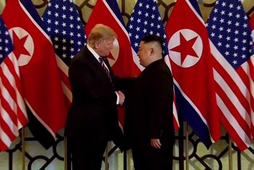ترامپ و کیم دیدار کردند