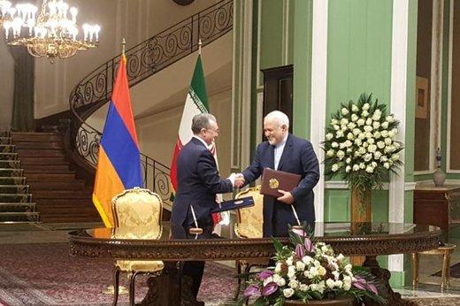 Iran, Armenia sign 2 MoUs
