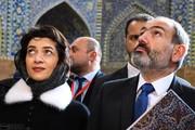 تصاویر | گشت و گذار نخستوزیر ارمنستان و همسرش در اصفهان