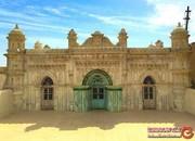 رنگونی، عجیب و غریبترین سازه هندی در جنوب ایران +تصاویر