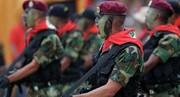 اعضای گارد ملی ونزوئلا برای دریافت پول به کلمبیا هجوم بردند!