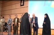 تجلیل از مادر شهیدان ۸ سال دفاع مقدس در دانشگاه آزاد شهرکرد