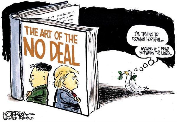 «هنر معامله نكردن» نوشته ترامپ و اون!