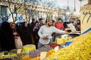 تصاویر | حالا و هوای شب عید در بازار تهران