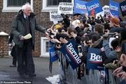 تصاویر| سندرز رسما کارزار انتخاباتی را آغاز کرد