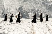 تصاویر   تمرین ساموراییها در ارتفاعات تهران!