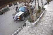فیلم   تصاویر دوربین مداربسته از یک سرقت عجیب در ایران!