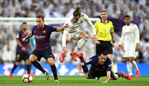 رئالمادرید 1-0 بارسلونا؛ چیپ راکیتیچ کاتالانها را به 3 امتیاز الکلاسیکو رساند