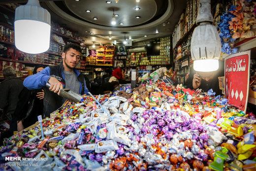 خرید نوروزی در بازار بزرگ تهران