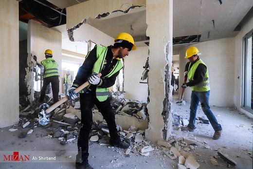 تخریب بخشی از ویلای دختر وزیر سابق در لواسان